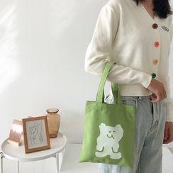 TangTangBags - 卡通印花帆布手提袋