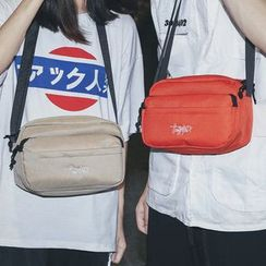 SUNMAN - Embroidered Canvas Fanny Pack