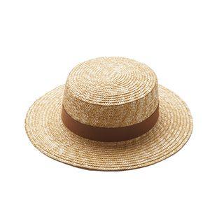 HARPY - Straw Boater Hat