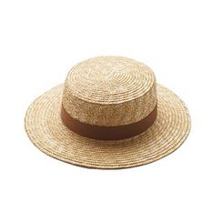 HARPY - Straw Boater Hat