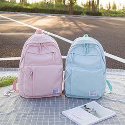 Hampa - 貼布繡帆布背包