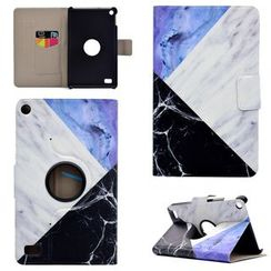 Angelme - Marble Print Kindle Paperwhite Cover