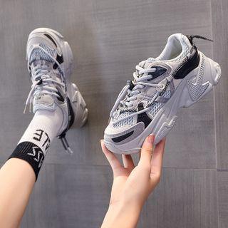KORISE - Platform Mesh Sneakers