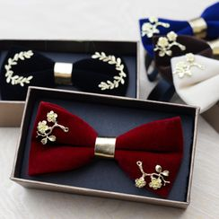 Prodigy - Flower Pin Bow Tie