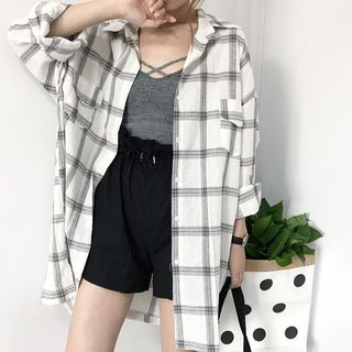 Happo - 格子长衬衫