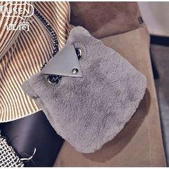 Youshine - Fleece Owl Shoulder Bag