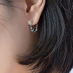 Tenri - Stainless Steel Hoop Earring