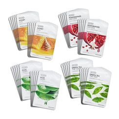THE FACE SHOP - Real Nature Face Mask Set 10 pcs - 5 Types