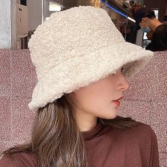 Hat Society - Shearling Bucket Hat