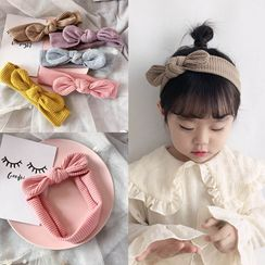 Sweet la Vie - Kids Bow Knit Headband