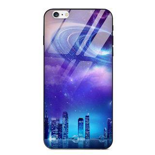 POEEM - Galaxy Print Mobile Case - iPhone XS Max / XS / XR / X / 8 / 8 Plus / 7 / 7 Plus / 6s / 6s Plus