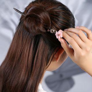 Gangnam - 復古花朵木製髮簪