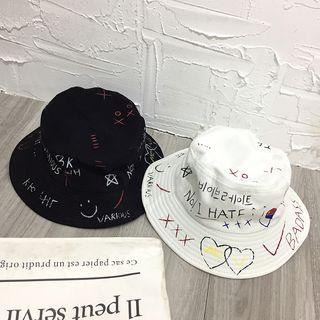 Raconteur - 塗鴉印花漁夫帽