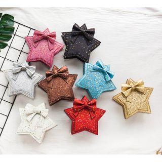 Trendy Spot - Kids Glitter Star Crossbody Bag