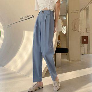 Alumna - Cropped Harem Dress Pants