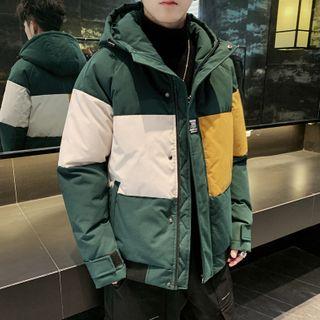 Andrei - 插色連帽派克大衣