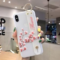 Pixel Dream - Printed Mobile Case with Strap - iPhone 6 / iPhone 6s / iPhone 6 Plus / iPhone 6s Plus / iPhone 7 / iPhone 7 Plus / iPhone 8 / iPhone 8 Plus / iPhone X / iPhone XS / iPhone XS Max / iPhone XR
