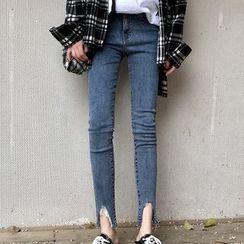 Ashlee - Cropped Skinny Jeans