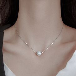 Zilverzmith - Faux Pearl Necklace