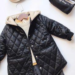 KittyWorld - Kids Hooded Padded Coat