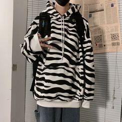 LINSI - Zebra Print Hoodie