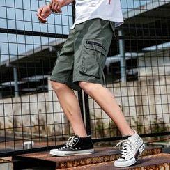 Andrei - Zip Pocket Cargo Shorts