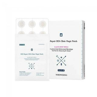 TOSOWOONG - SOS Repair Cica Clinic Acne Patch 60pcs