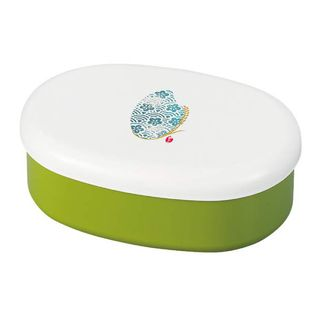 Hakoya - Hakoya Komemon 1-Tier Oval Lunch Box 480ml (Green)