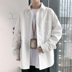 Dukakis - 纯色衬衫