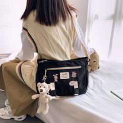 EAVALURE - Applique Messenger Bag