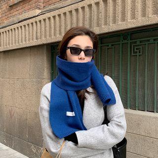 Combon - Plain Knit Scarf