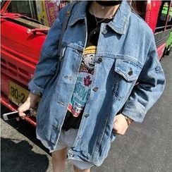 SHONN - Oversize Denim Jacket