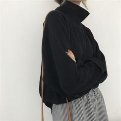 Essere - Mock-Turtleneck Cropped Sweater