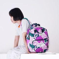 KIITOS - 果蔬系列印花帆布背包
