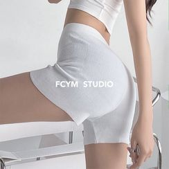 Girls Supply - 高腰针织短裤