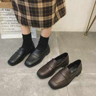 Senkano - 仿皮乐福鞋