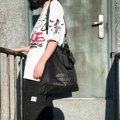 Mulgam - 網紗拼接牛津手提袋