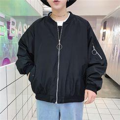 Filmas - Plain Bomber Jacket