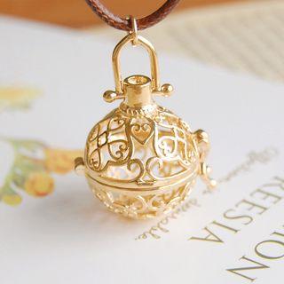 Nisen - Copper Fragrance Sachet Pendant Necklace