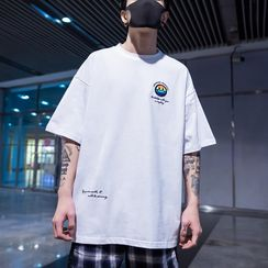 UIXX - Loose-Fit Printed T-Shirt