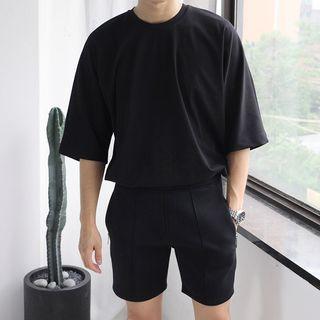 Real Boy(リアルボーイ) - 丸襟半袖Tシャツ