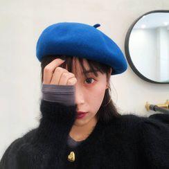 Birravin - 纯色贝雷帽