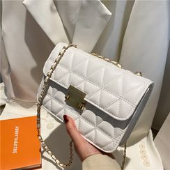 Tiff - Chain Quilted Crossbody Bag