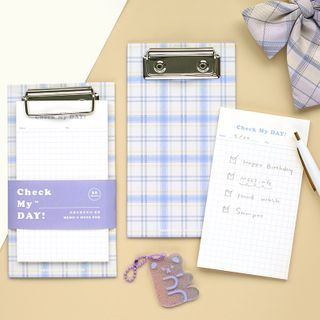 OH.LEELY - Small Memo Pad with Clipboard