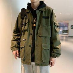 Bay Go Mall - Applique Utility Jacket
