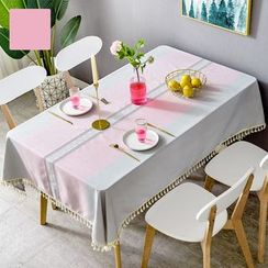 iMpressee - Striped Linen Cotton Table Cloth
