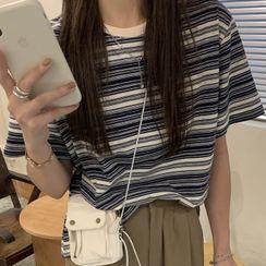 Luna Rouge - Short-Sleeve Striped T-Shirt