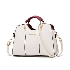 Aquilegia - Faux Leather Crossbody Bag
