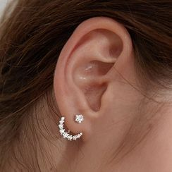 DeerMe - Rhinestone Star Ear Jacket