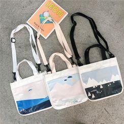 Ms Bean(ミズビーン) - Printed Crossbody Bag